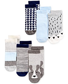 Baby Boys 6-Pk. Crew Socks, Created for Macy's