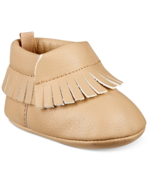 First Impressions Fringe Moccasins Baby Boys  Girls (04) Created for Macys