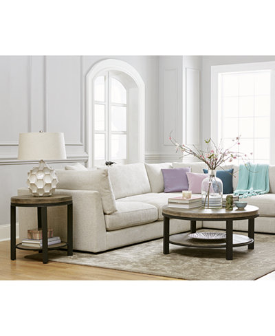 Canyon Round Table Furniture Collection, Created for Macy's