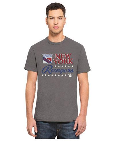 '47 Brand Men's New York Rangers Expansion Scrum T-Shirt