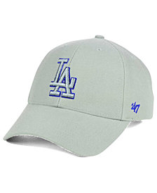 '47 Brand Los Angeles Dodgers MVP Gray TC Pop Cap