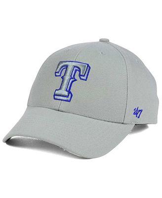 '47 Brand Texas Rangers MVP Gray TC Pop Cap