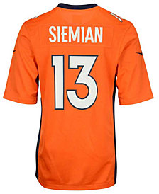 Nike Trevor Siemian Denver Broncos Game Jersey, Big Boys (8-20)