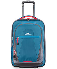 "CLOSEOUT! High Sierra Decatur 21"" Carry-On & Zip-Off Backpack, Created for Macy's"