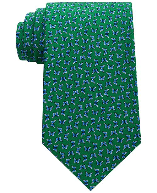 35556d119 Tommy Hilfiger Men's Printed Butterfly Tie & Reviews - Ties & Pocket ...