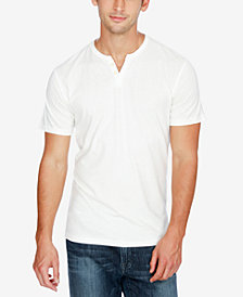 Lucky Brand Men's Split-Neck Cotton T-Shirt