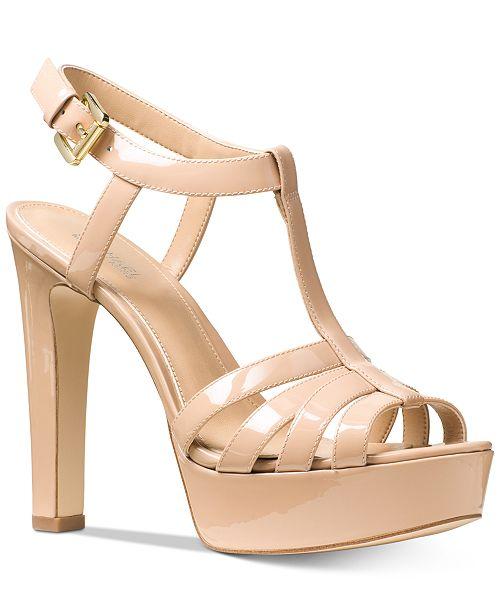 424aee97db6 Michael Kors Catalina Dress Sandals   Reviews - Sandals   Flip ...