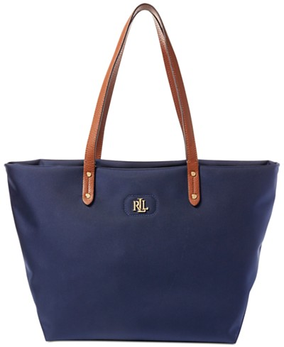 Lauren Ralph Lauren Nylon Bainbridge Tote, Created for Macy's