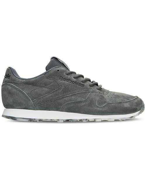 ... low priced d3ddd 6c152 Reebok Womens Classic Leather Shimmer Casual  Sneakers from Finish Line - Finish ... ad9d7f256
