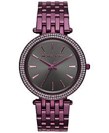 Michael Kors Women's Darci Plum Stainless Steel Bracelet Watch 39mm MK3554 - Limited Edition