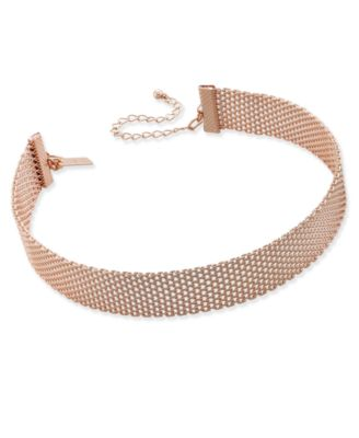 Image of INC International Concepts Mesh Choker Necklace, Only at Macy's