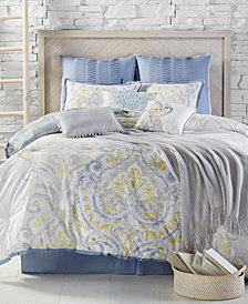 CLOSEOUT! Kelly Ripa Home Palermo Reversible 10-Pc. California King Comforter Set