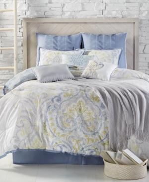 Kelly Ripa Home Palermo Reversible 10Pc King Comforter Set Bedding