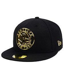 New Era Brooklyn Nets Current O'Gold 59FIFTY Cap