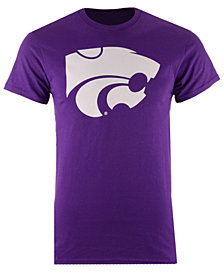 J America Men's Kansas State Wildcats Big Logo T-Shirt
