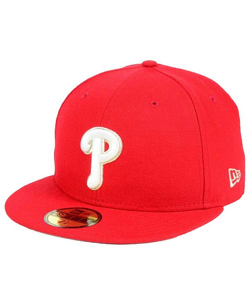 outlet store 531e4 028db ... New Era Philadelphia Phillies Pintastic 59FIFTY Cap ...