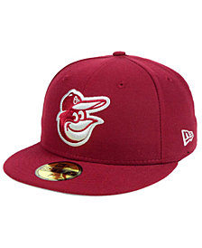 New Era Baltimore Orioles Cardinal Gray 59FIFTY Cap