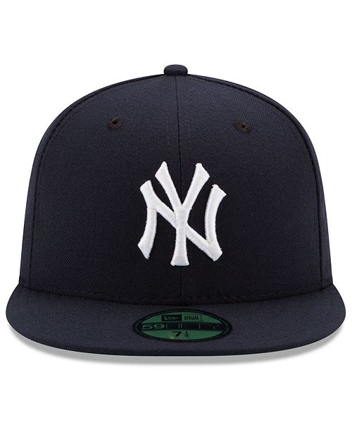 buy online 74809 46a8e ... New Era New York Yankees Authentic Collection 59FIFTY Cap ...