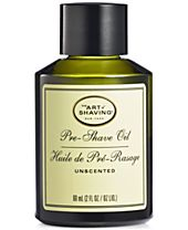 The Art of Shaving Unscented Pre-Shave Oil, 2 oz.