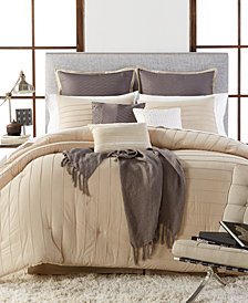 CLOSEOUT! Riverdale 10-Piece King Comforter Set