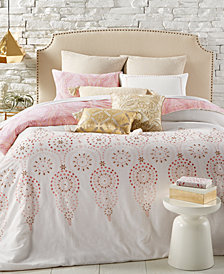 CLOSEOUT! Printemps Reversible 8-Pc. Full/Queen Comforter Set