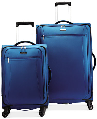 Samsonite X-Tralight Softside Spinner Luggage Collection, Created ...