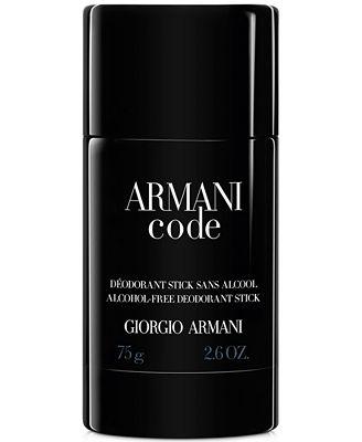 Armani Code Deodorant, 2.6 oz.