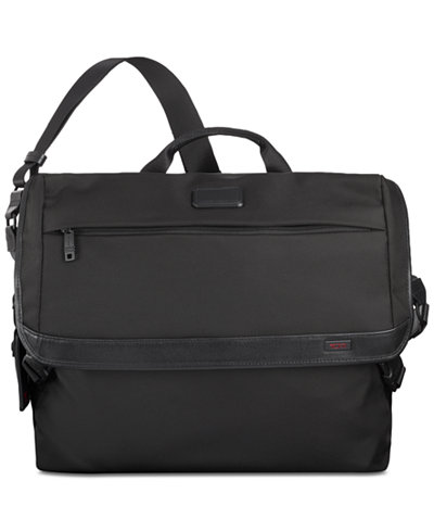 Tumi Men's Alpha Ballistic Nylon Messenger Bag