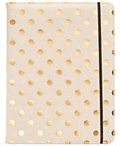 kate spade new york Metallic Dot Notepad Folio