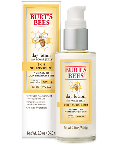 Burt's Bees Skin Nourishment Day Lotion SPF 15, 2 oz