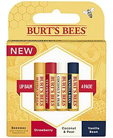 Burt's Bees 4-Pk. Lip Balm