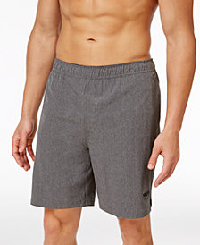 "Speedo Men's Heathered Volley 9"" Swim Trunks"