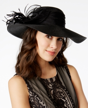 Edwardian Style Hats, Titanic Hats, Derby Hats August Hats Downbrim Hat $54.00 AT vintagedancer.com