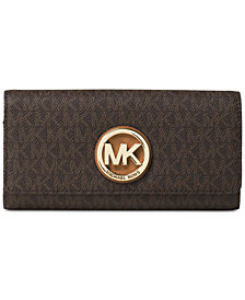 MICHAEL Michael Kors Signature Fulton Wallet