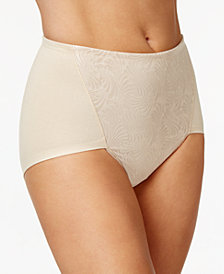 Bali 2-Pack Ultra Tummy-Control Cotton Brief DF6510