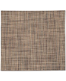"""Chilewich Square Basketweave Woven 13"""" x 14"""" Vinyl Placemat"""