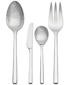 Vera Wang Wedgwood Flatware 18/10, Polished 4 Piece Hostess Set