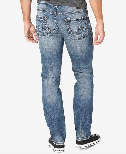 Mens Allan Slim Silver Jeans Co OK9qu