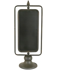 Metal 2-Sided Chalkboard on Stand
