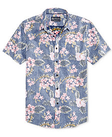 American Rag Men's Tossed Tropics Shirt, Created for Macy's