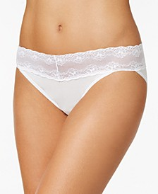 Bliss Perfection Lace-Waist Bikini Underwear 756092