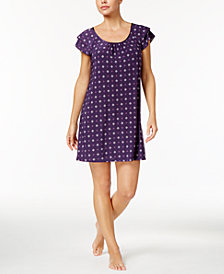 Alfani Flutter-Sleeve Chemise, Created for Macy's