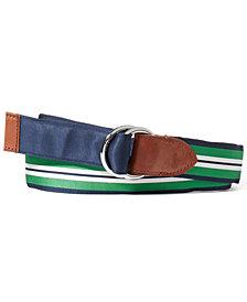 Polo Ralph Lauren Men's Reversible Grosgrain Belt