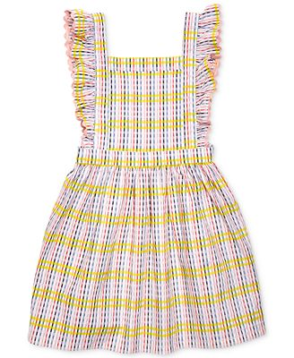 Margherita Kids by Margherita Missoni Checkered Pinafore Dress, Little Girls (2-7)