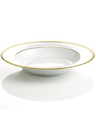 Charter Club Grand Buffet Gold Rim Soup Bowl Fine China Macy S