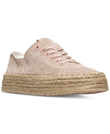 Tretorn Women's Eve 3 Perf Nubuck Casual Sneakers from Finish Line