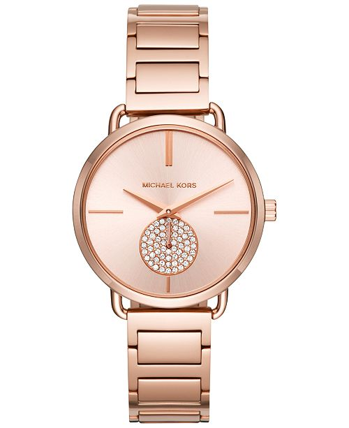 Michael Kors Portia Collection Stainless Steel Bracelet Watches