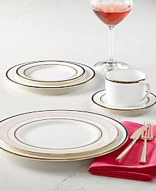 kate spade new york Library Lane Black Dinnerware Collection