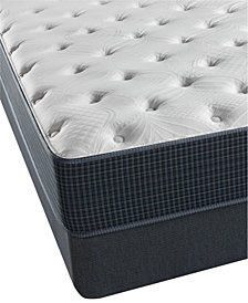 "CLOSEOUT! Beautyrest Silver Golden Gate 11.5"" Plush Mattress Set- Twin"