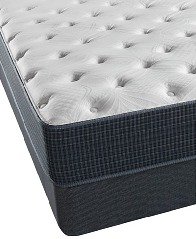 Beautyrest Silver Riverway 11.5 Plush Mattress Set- Queen